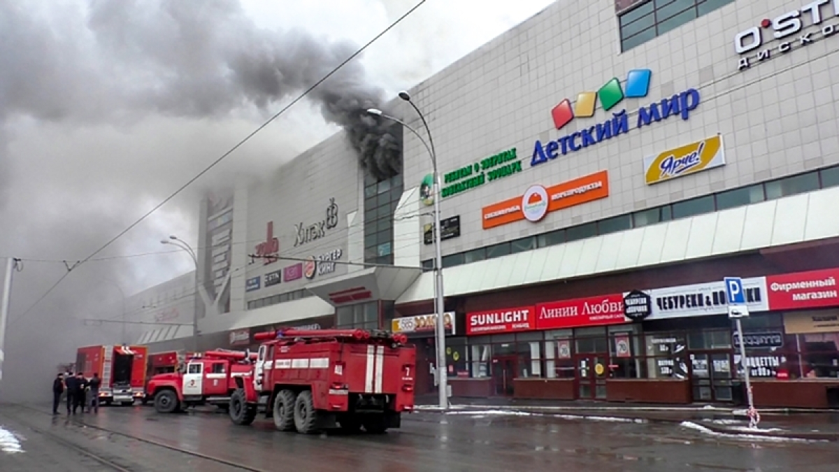 Russia fire: Death toll rises to 53 in Siberian shopping mall inferno