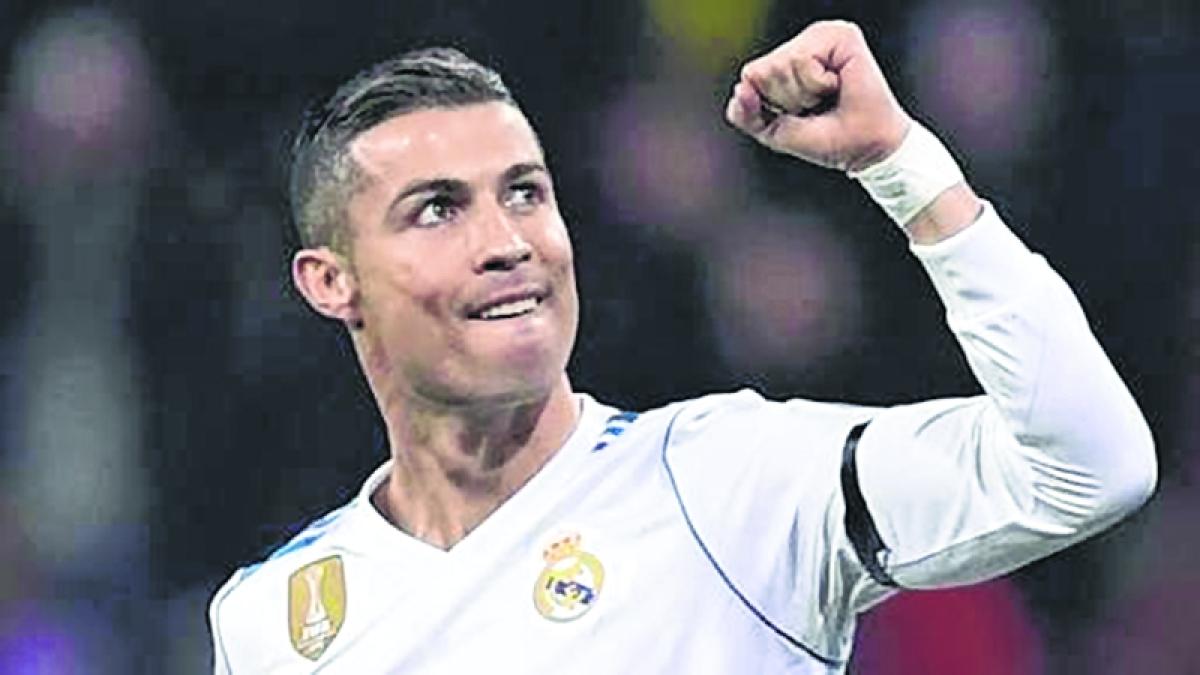 Cristiano Ronaldo named best Portuguese footballer of 2017