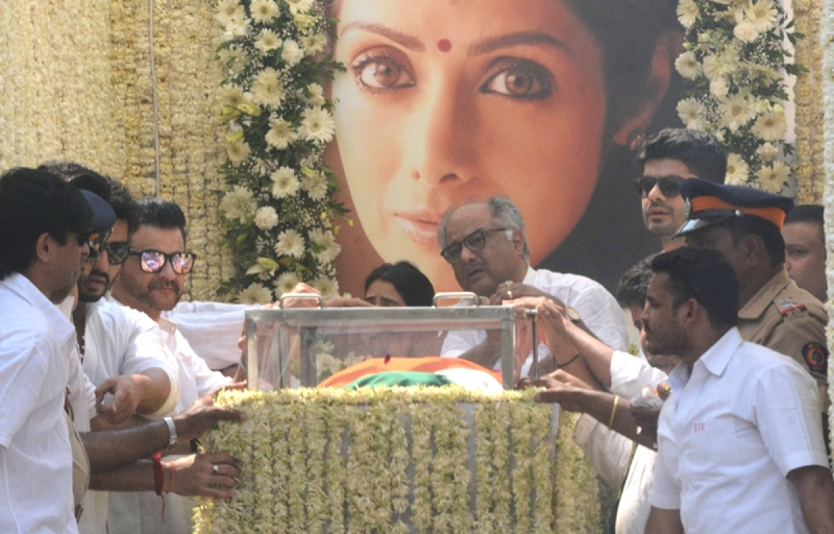 RIP Sridevi: Bollywood icon Sridevi cremated with state honours, fans, friends pay last respects