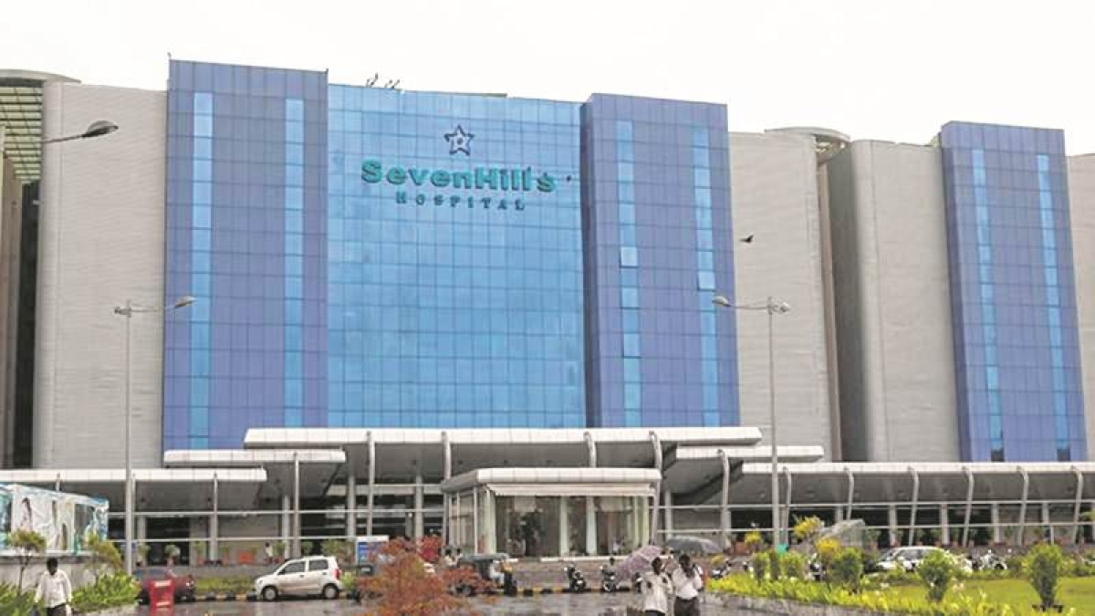 Seven Hills Hospital building in Andheri East is proposed to be a quarantine facility and is being equipped with facilities for the same