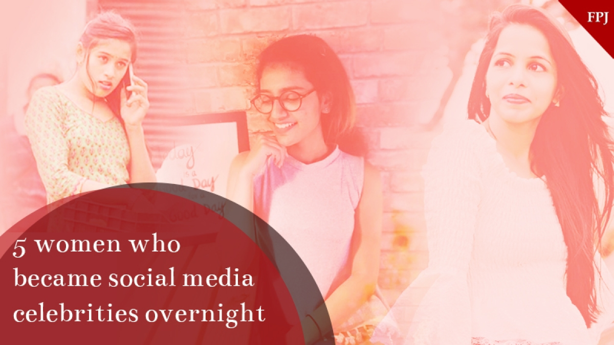 5 Indian women who became social media celebrities overnight!