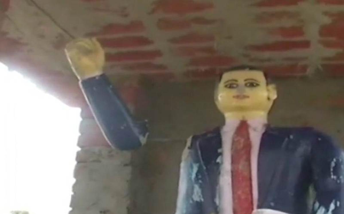 One more Ambedkar statue vandalised in Siddhartnagar, UP