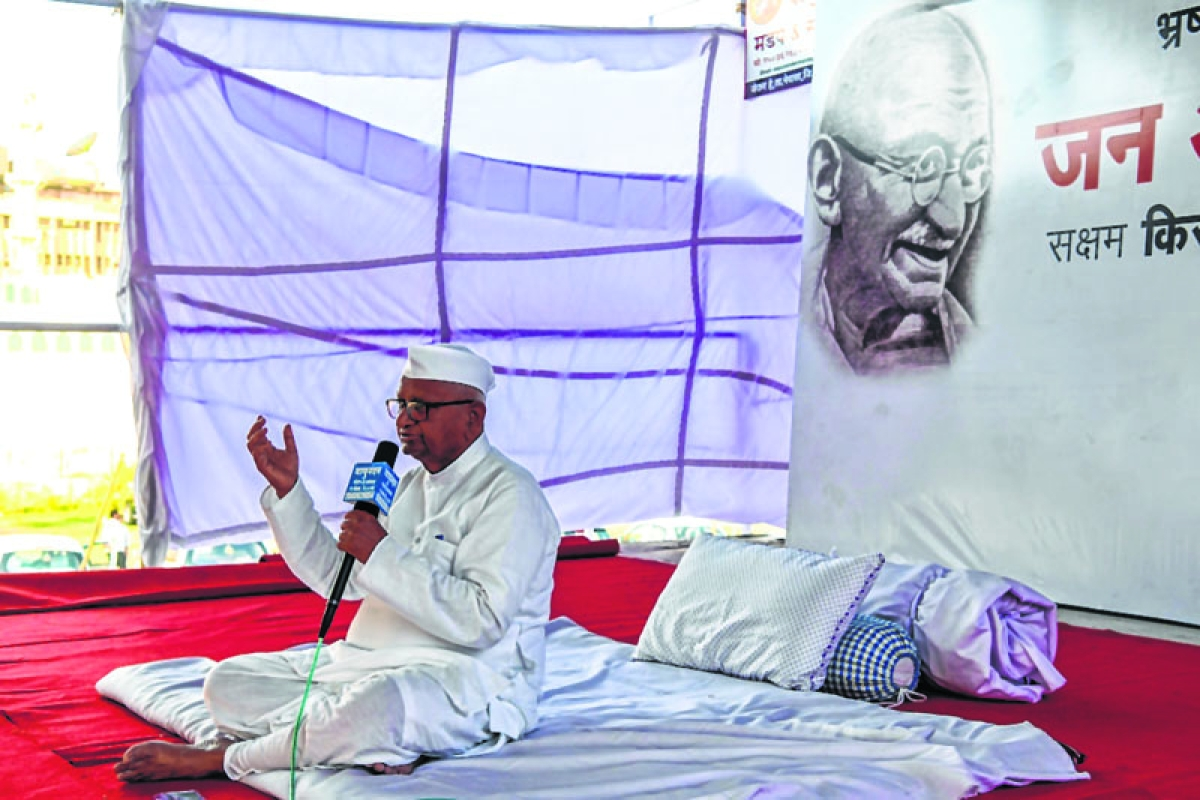 Govt's draft is useless, will continue fast: Anna Hazare