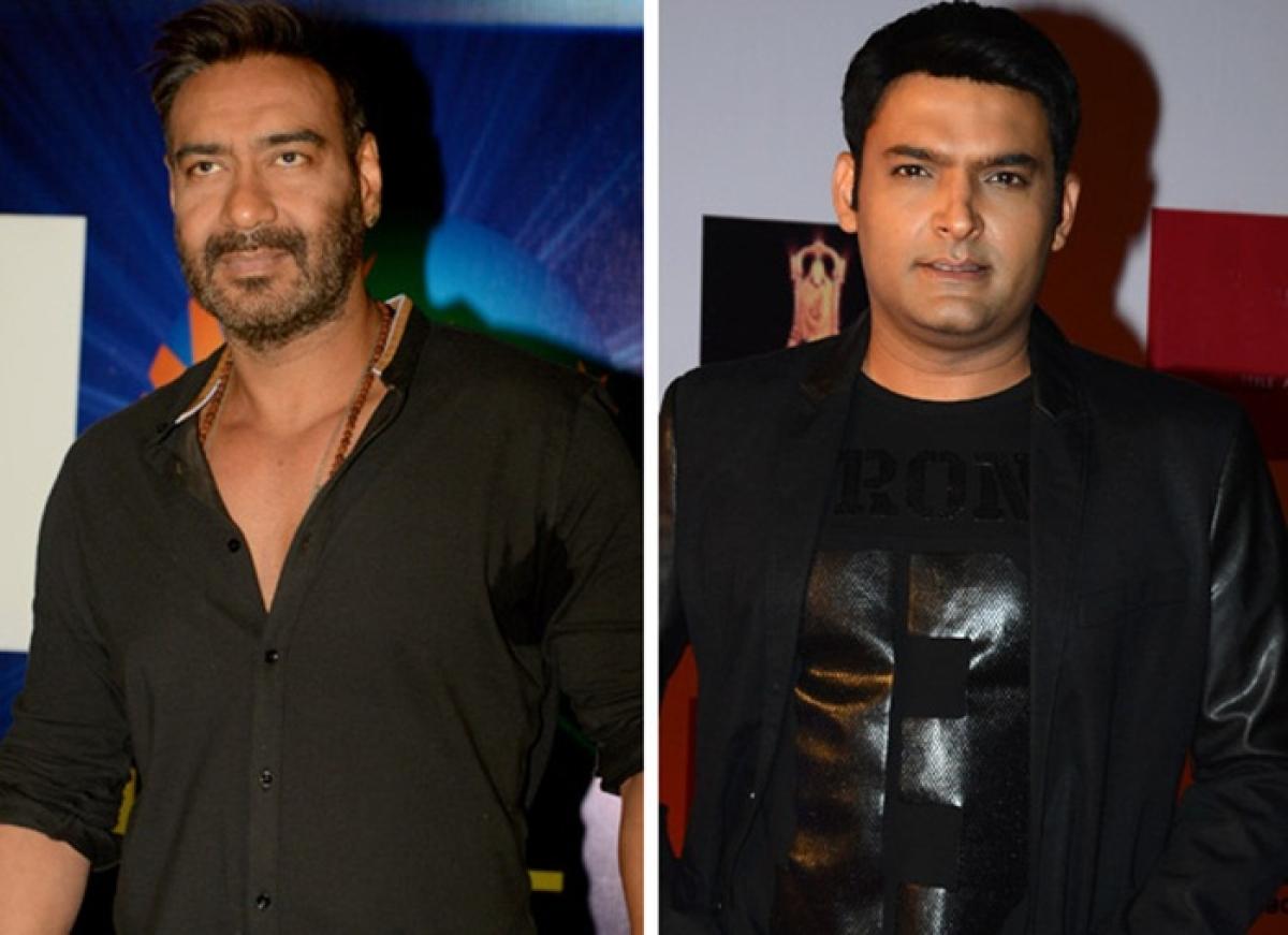 Ajay Devgn to shoot for Kapil Sharma's new show 'Family Time with Kapil Sharma'