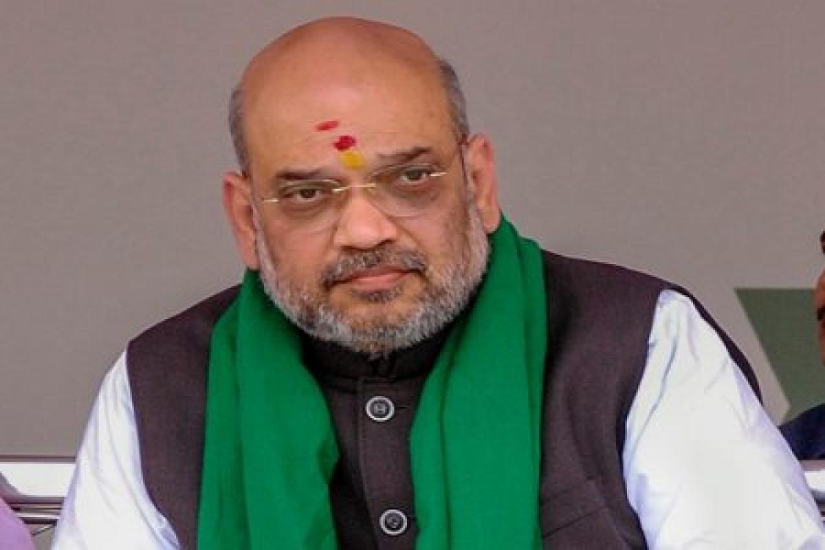 Congress involving Pak in K'taka polls: Amit Shah