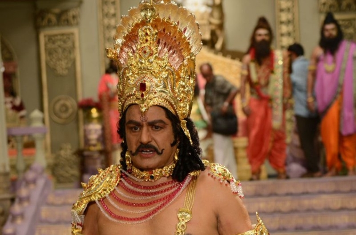 NTR biopic: Nandamuri Balakrishna to play NT Rama Rao, dresses up as Duryodhana for opening shot, see pics
