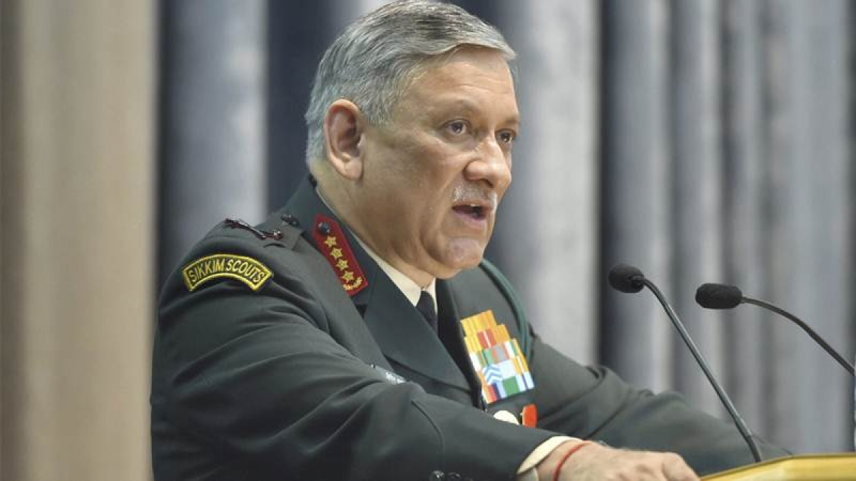UN report on Human rights violation in Kashmir is motivated: Army chief Bipin Rawat