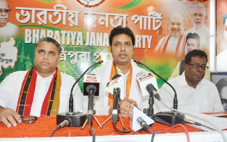 Priority is to provide corruption free, dynamic government in Tripura: CM Biplab Kumar Deb