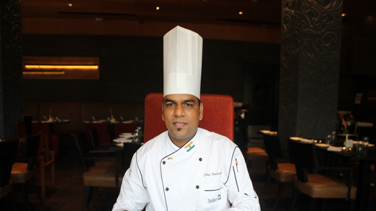Chef Narayan Salunke loves spices and believes in experimenting with them