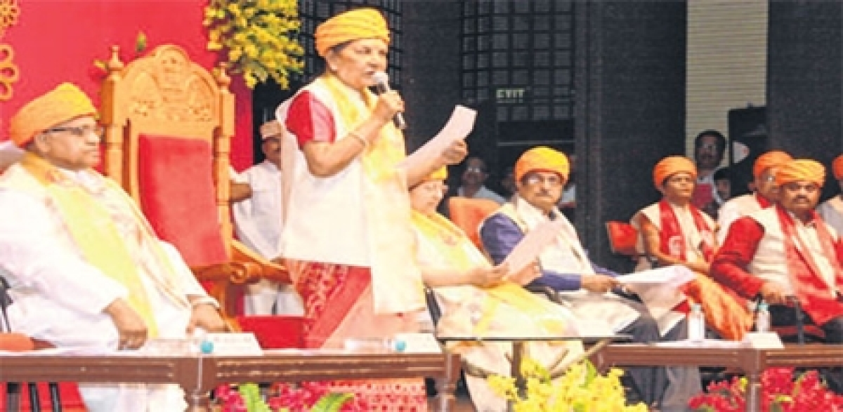 Indore: Foreign varsities make plans for government, system in India opposite says Government