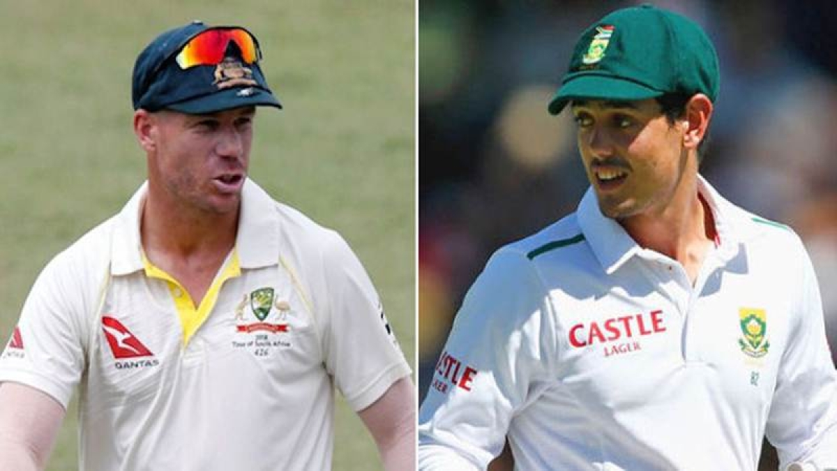 South Africa vs Australia: David Warner hits out at 'vile, disgusting' wife jibe by Quinton de Kock