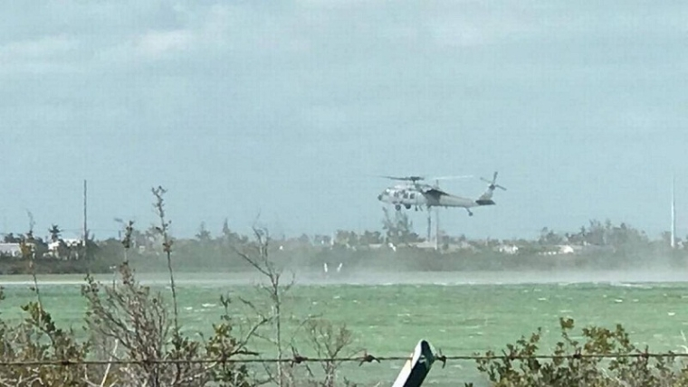 Navy jet crashes off Key West, killing 2 crew members