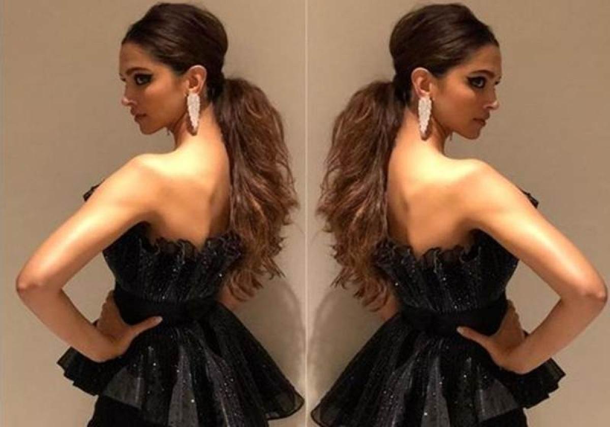 See pictures: Ravishing Deepika Padukone looks majestic in black