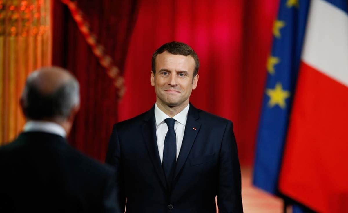 France has not declared war on Syria regime, says President Emmanuel Macron
