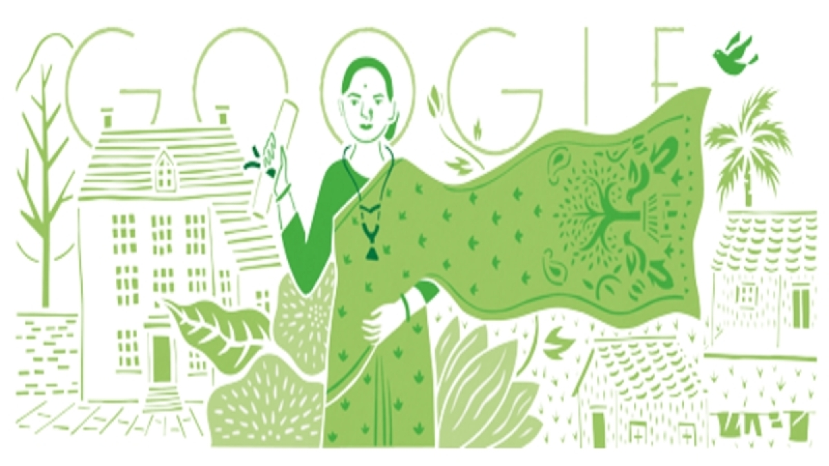Google doodle marks India's first lady doctor's 153rd birthday