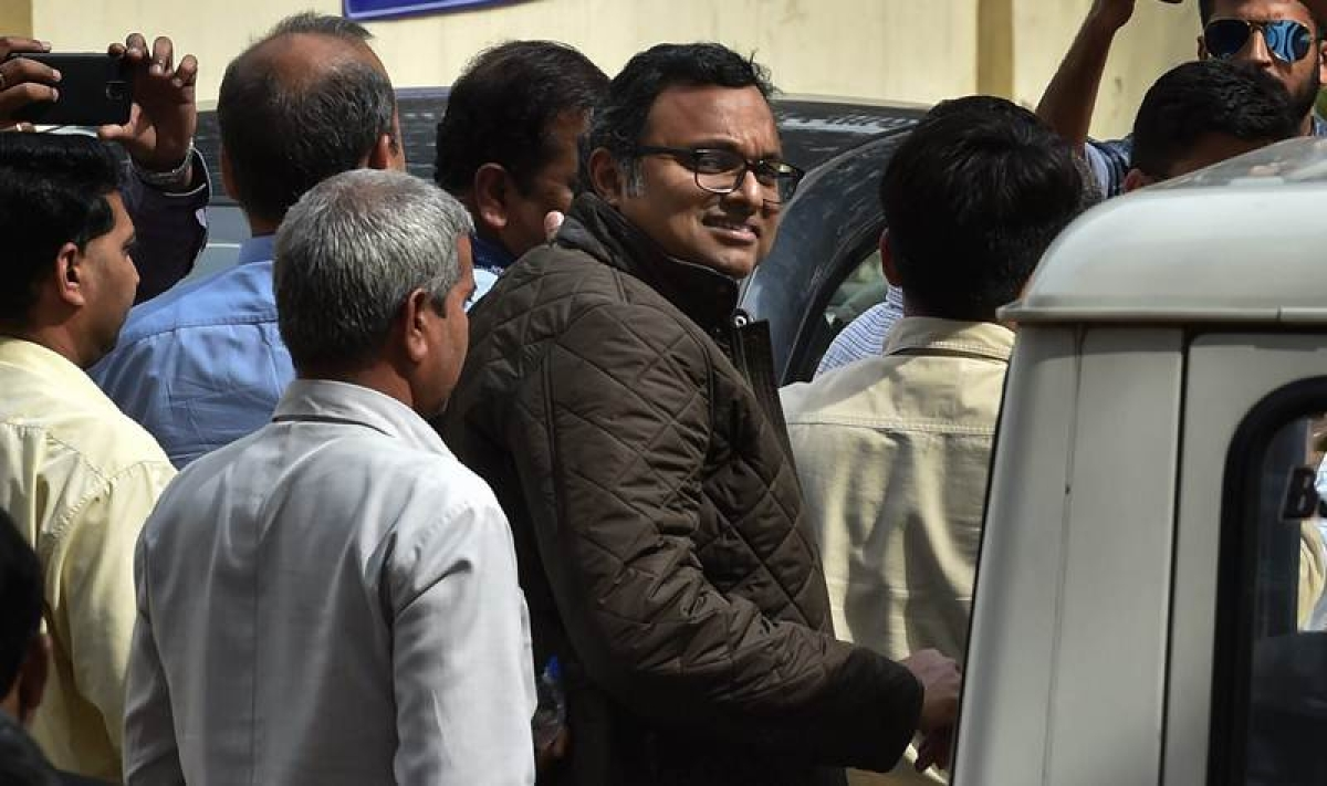 Supreme Court allows Karti Chidambaram to travel abroad, asks him to deposit Rs 10 crore