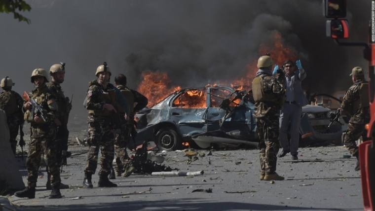 Kabul suicide attack: Death toll rises to 29