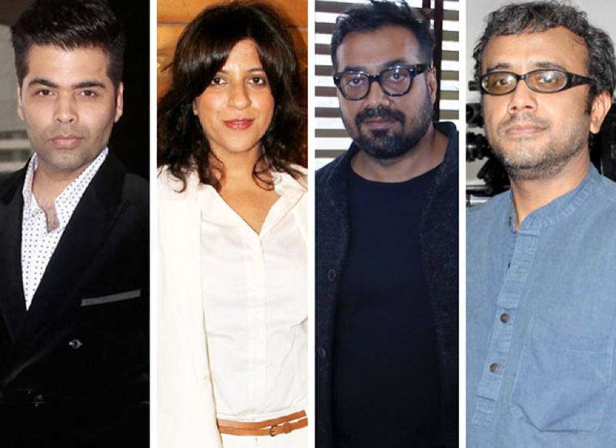 Bombay Talkies team Karan Johar, Zoya Akhtar, Anurag Kashyap, Dibakar Banerjee reunite for 'Lust Stories' on Netflix; See first pics
