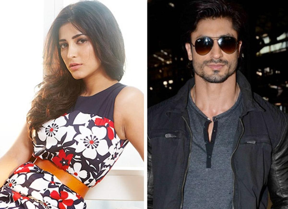 Shruti Haasan signs Mahesh Manjrekar film starring Vidyut Jammwal