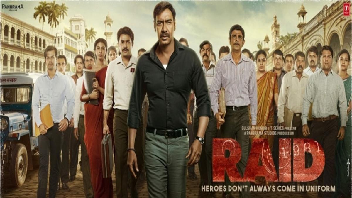 'Raid' Movie Review: Saurabh Shukla-Ajay Devgn face off makes 'Raid' a riveting watch