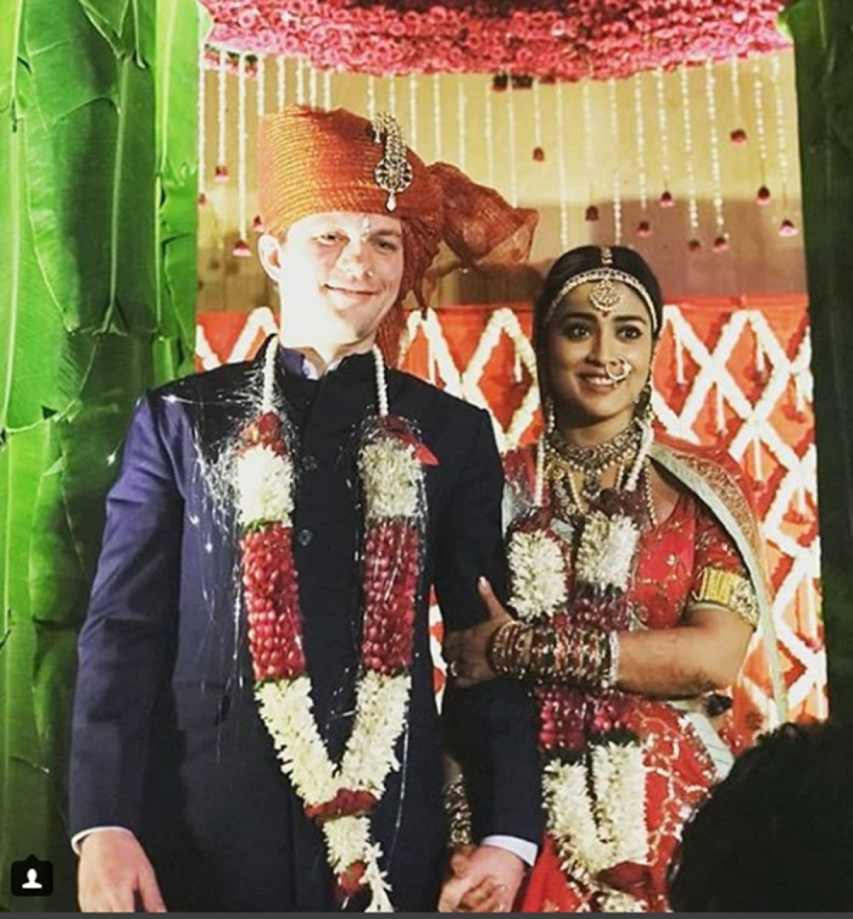 Shriya Saran's secret wedding pictures and videos leaked online; check out here