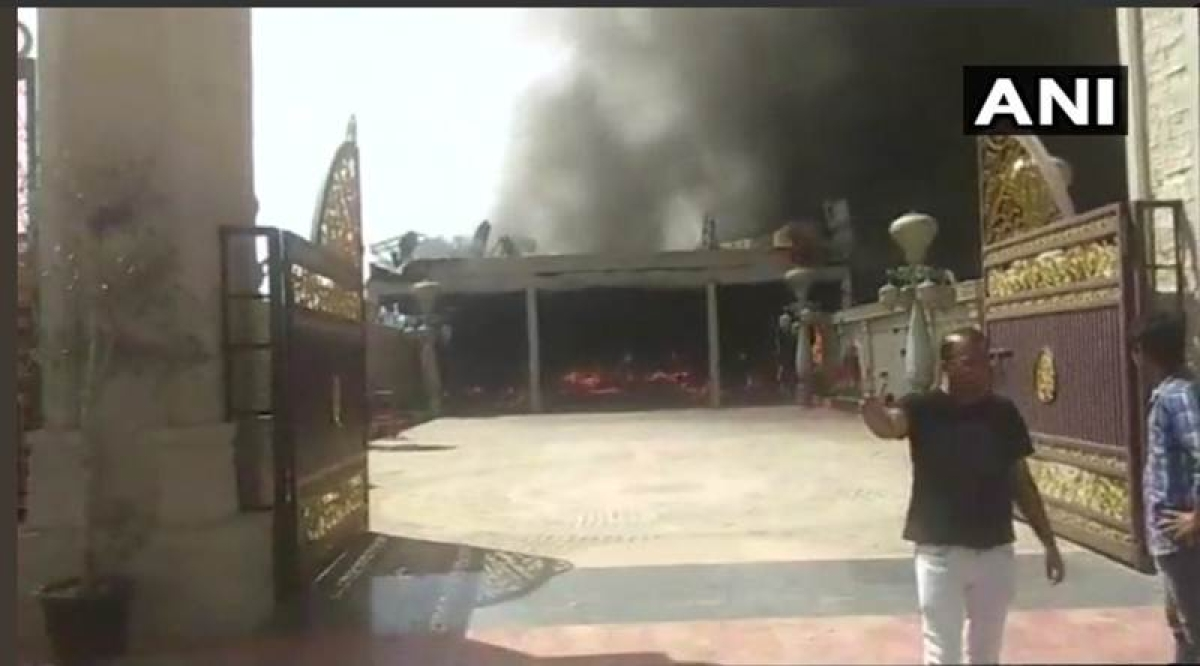 Rajasthan: Fire breaks out in Wedding hall