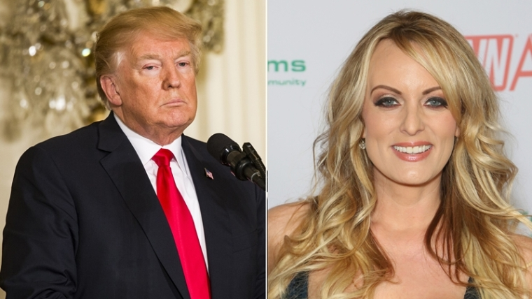 Hearing date set for Trump showdown with porn star Stormy Daniels