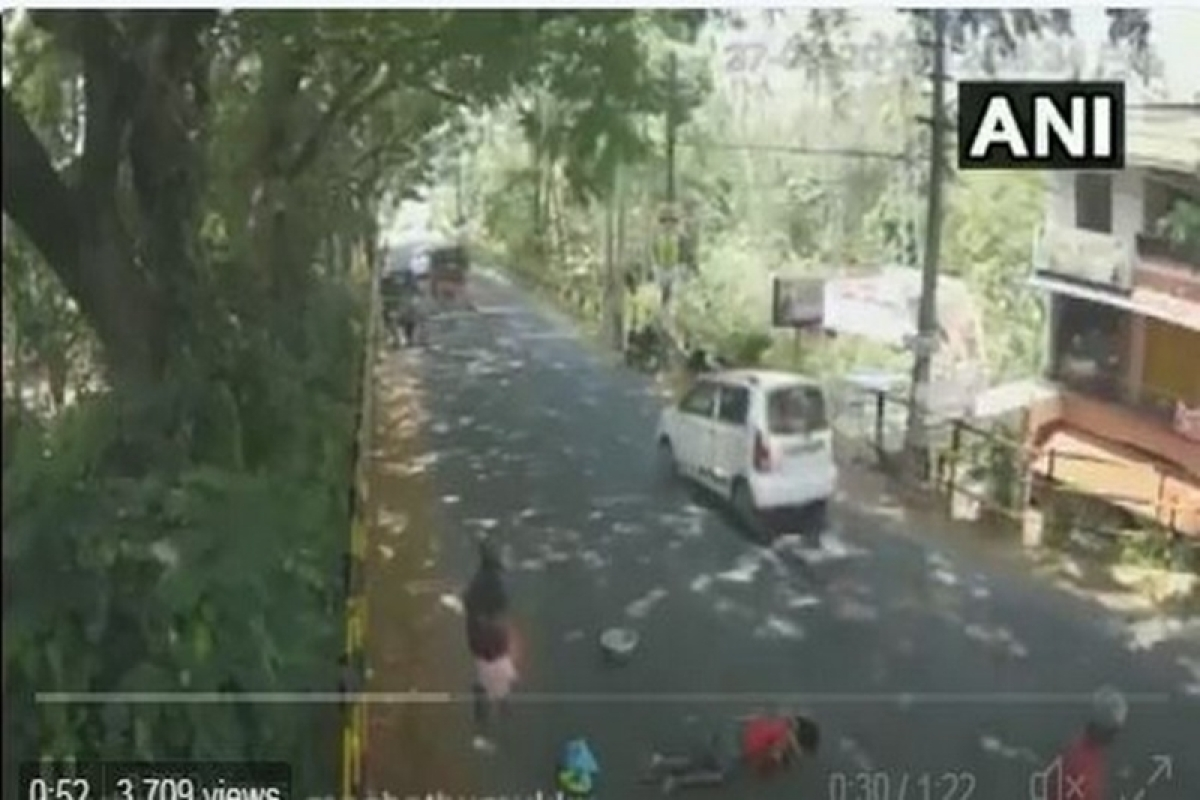 Shocking! Video footage showing 65-year-old accident victim mercilessly left on road in Kerala