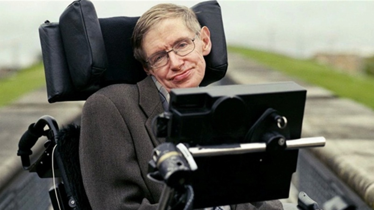 Late British physicist Stephen Hawking's papers, wheelchair for sale