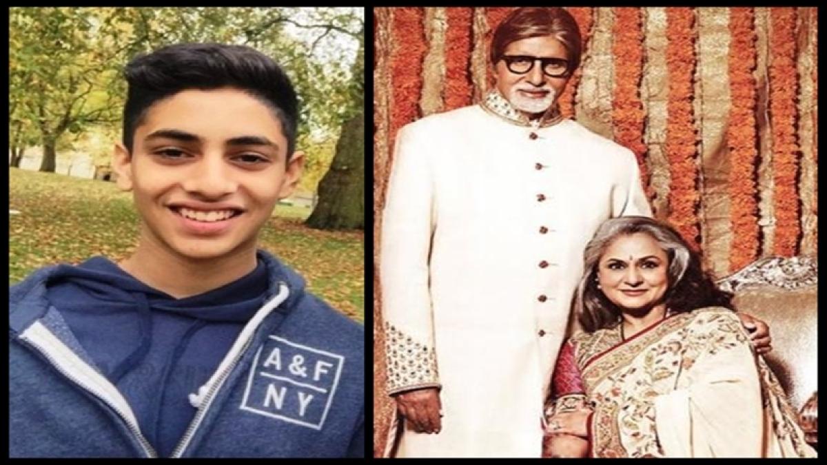 OMG! Grandson Agastya Nanda impresses Amitabh Bachchan with his short film