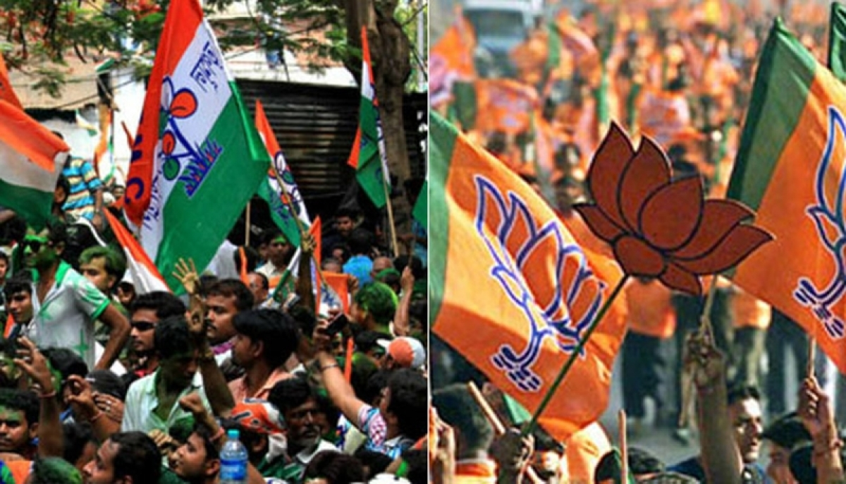 BJP accuses TMC of trying to gag democracy in West Bengal