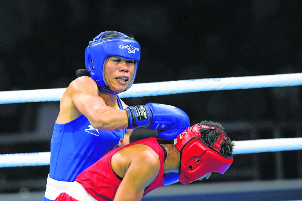 Mary in final; 3 boxers in semis