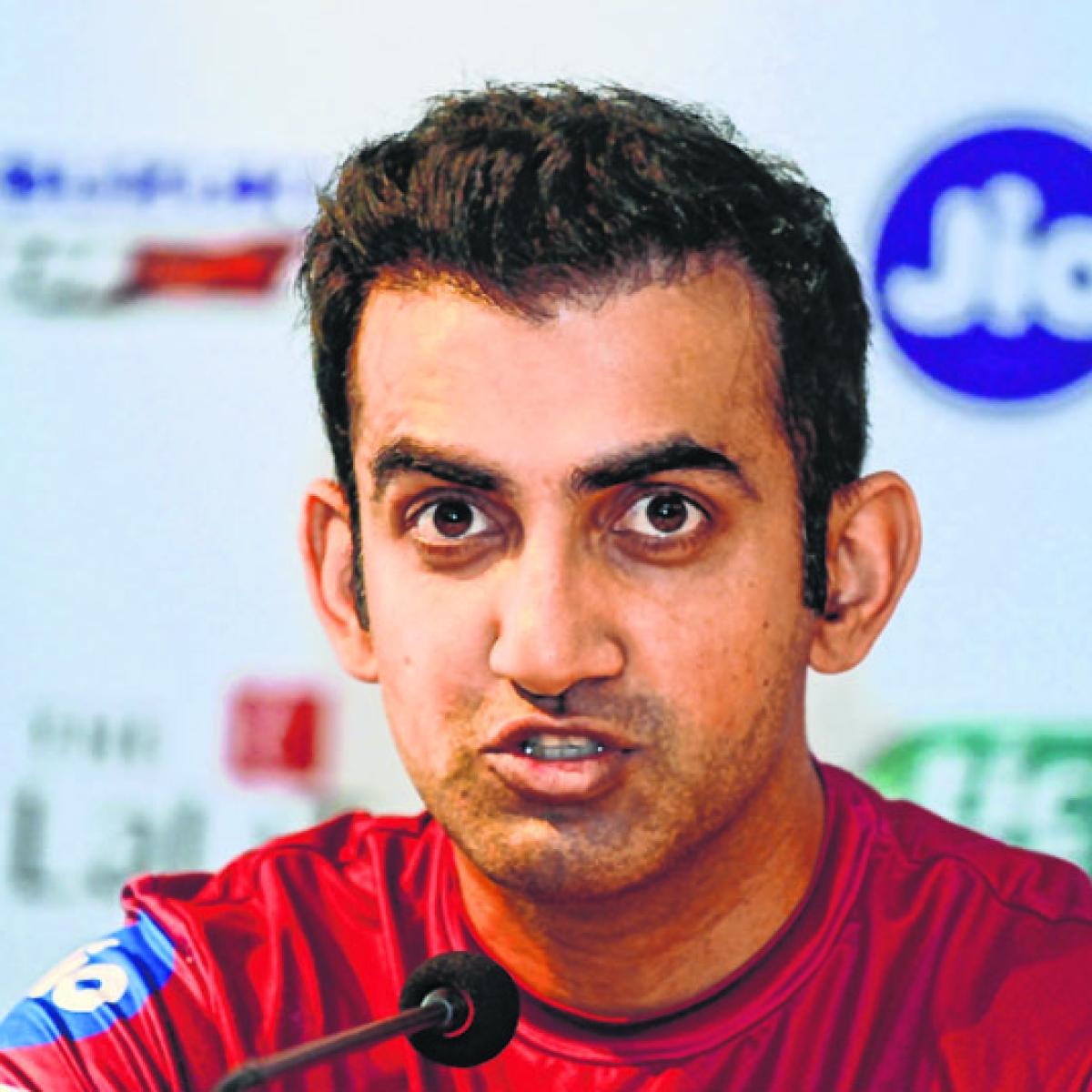 Gautam Gambhir wants India to capitalise on Australia's 'vulnerable' batting line-up