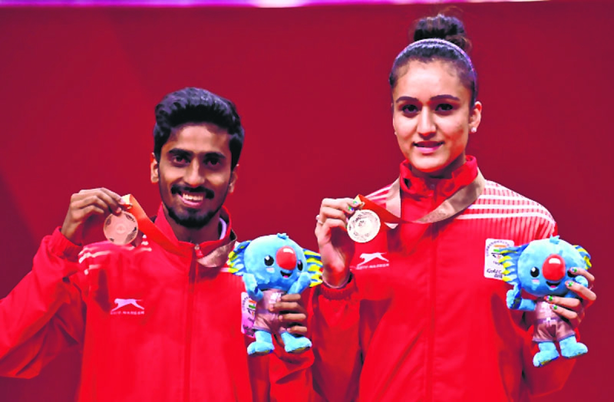 Manika to the 'four'; India emerge as top TT nation