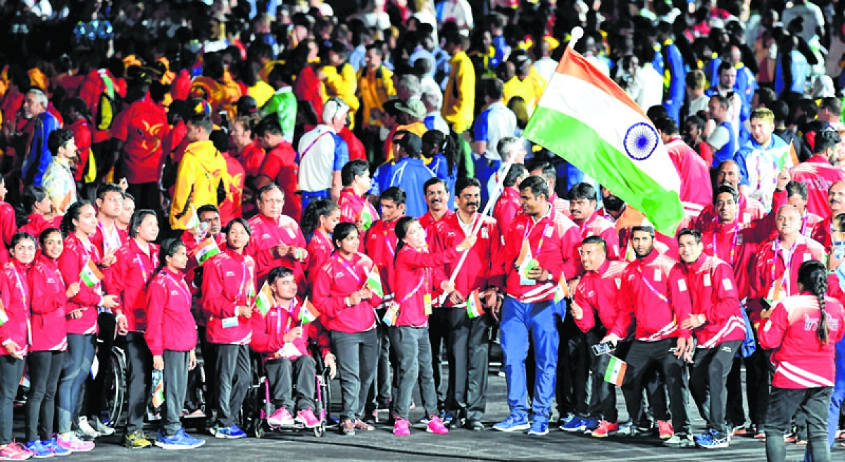 India finish on a high