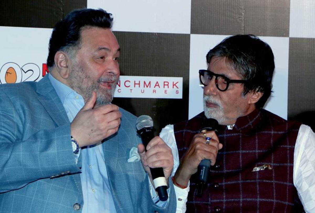 Rishi Kapoor dies at 67, Amitabh Bachchan mourns actor's demise