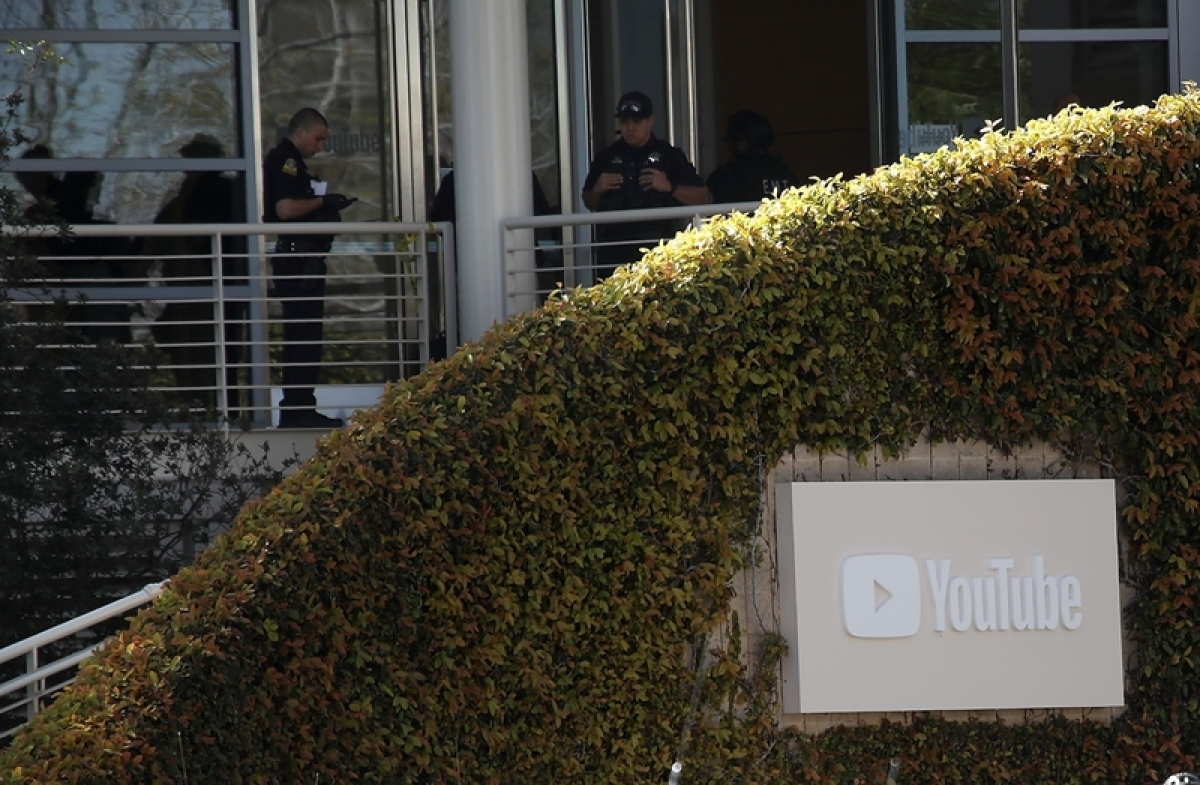 Woman opens fire at YouTube headquarters, injures 3 before killing self