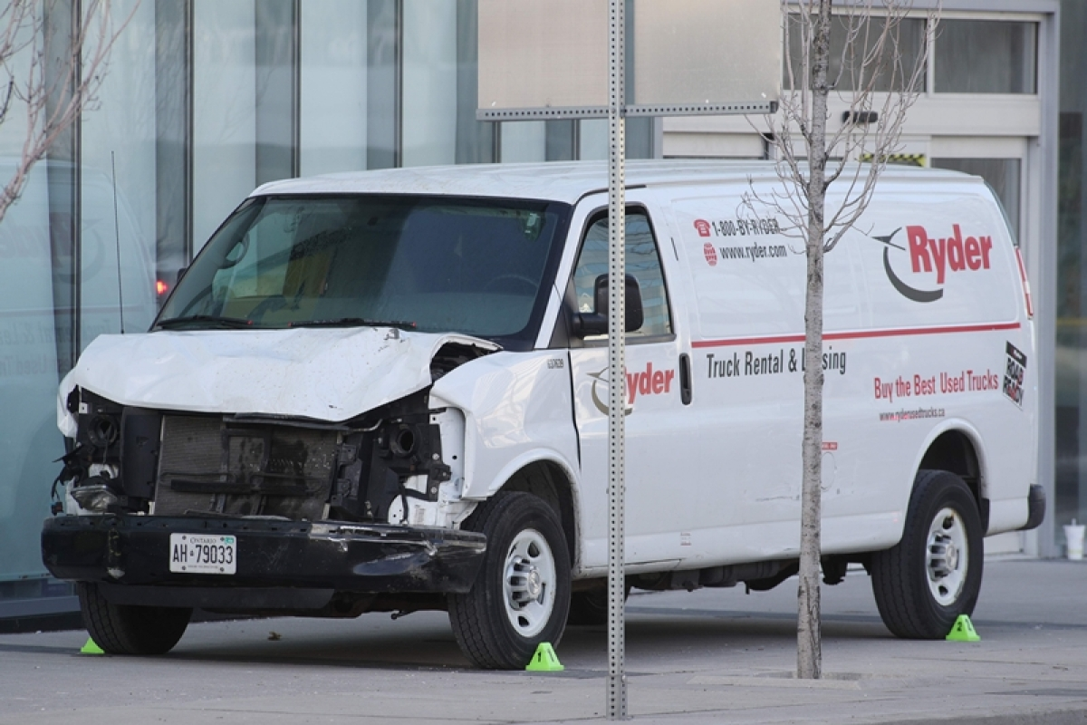 Toronto: Death rises to 10 as van plows into pedestrians, driver arrested