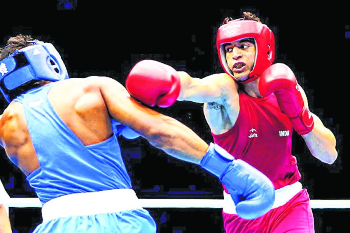Sumit, Nikhat strike gold