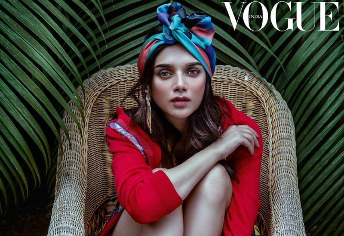 Aditi Rao Hydari redefines Royal beauty in Vogue magazine cover, see pics