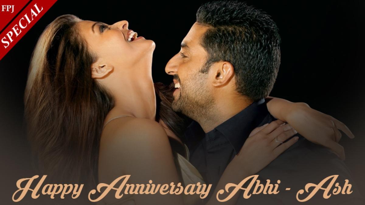 Abhishek Bachchan-Aishwarya Rai 11th Wedding Anniversary: Flop on-screen, the couple is super hit off it!