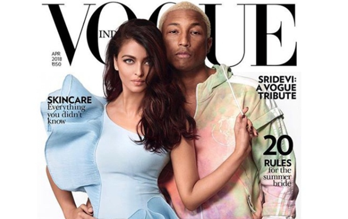 In Pictures: Aishwarya Rai Bachchan, Pharrell Williams dazzle in latest photoshoot for Vogue