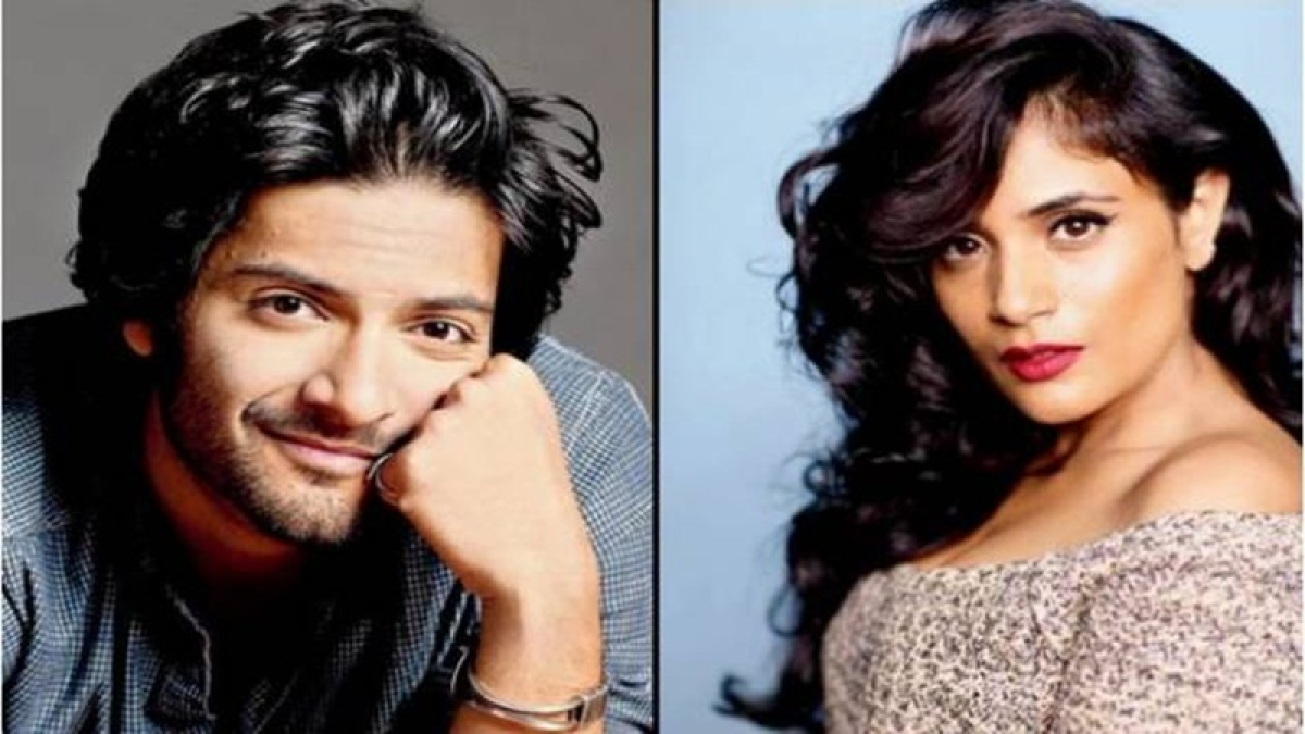 Richa, Ali happy to be named 'Most Beautiful Couple'