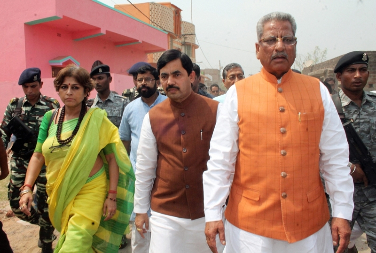 BJP team visits riot-hit Asansol ignoring prohibitory orders