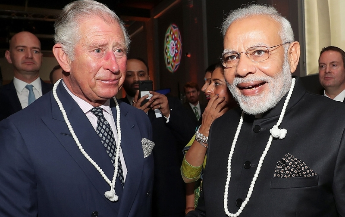 Prince Charles and Narendra Modi visit the Science Museum, see pics