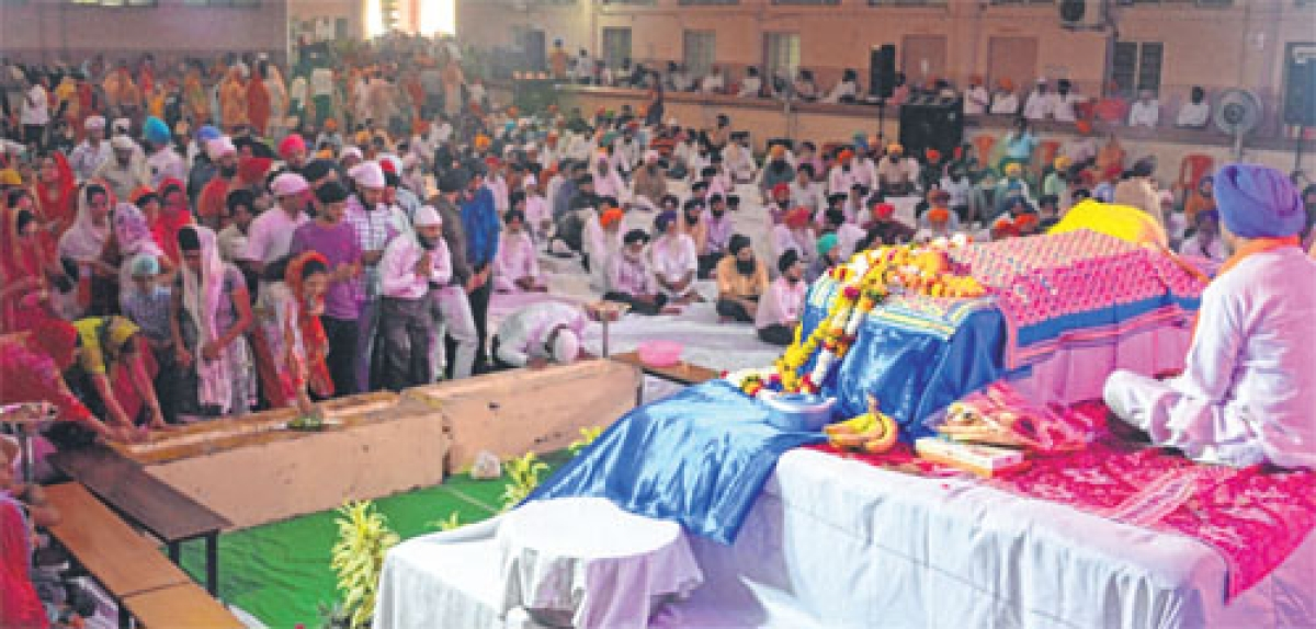 Baisakhi celebrated with fervour, gaiety