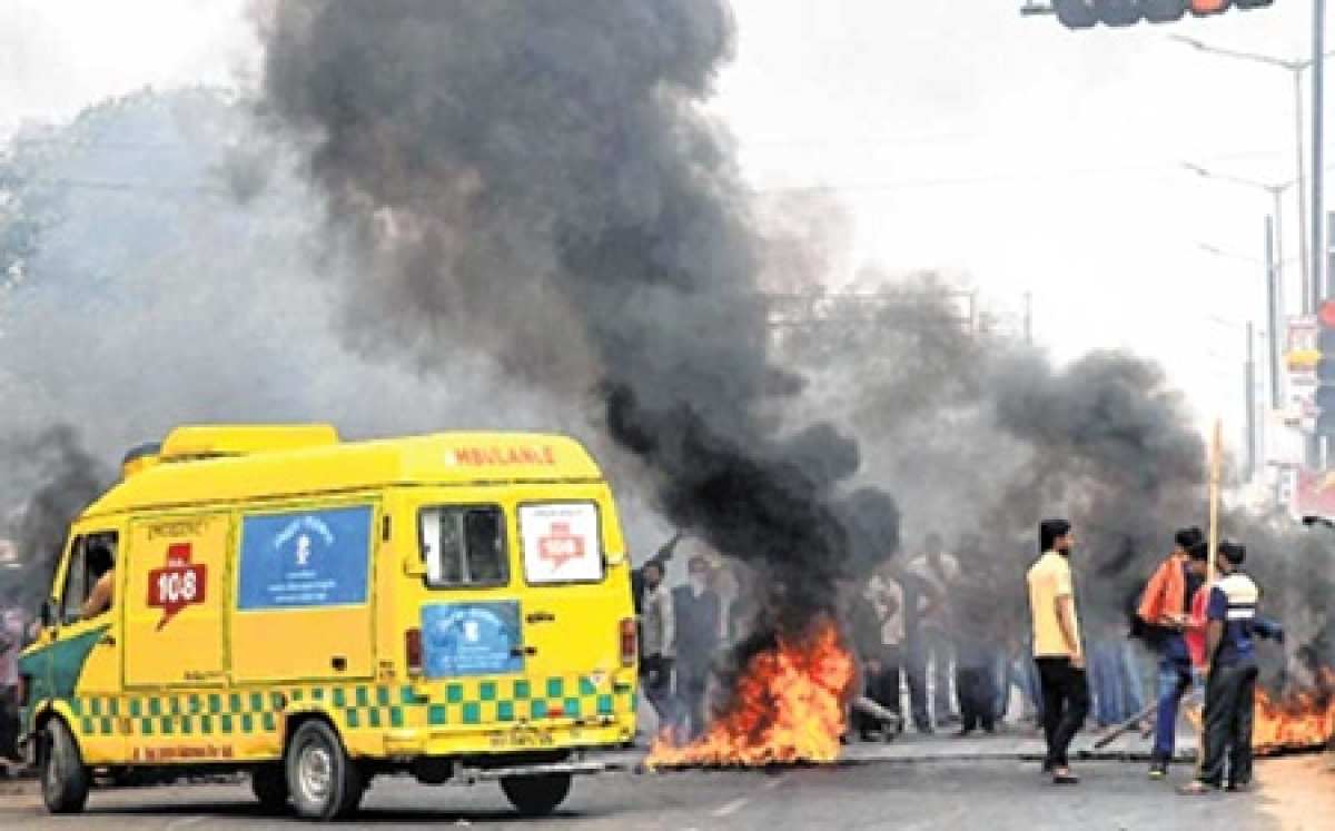 Anti-quota bandh peacefulbarring a few stray incidents