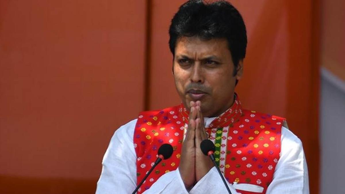 Tripura CM slams Congress, CPI(M) for 'maligning' Amit Shah