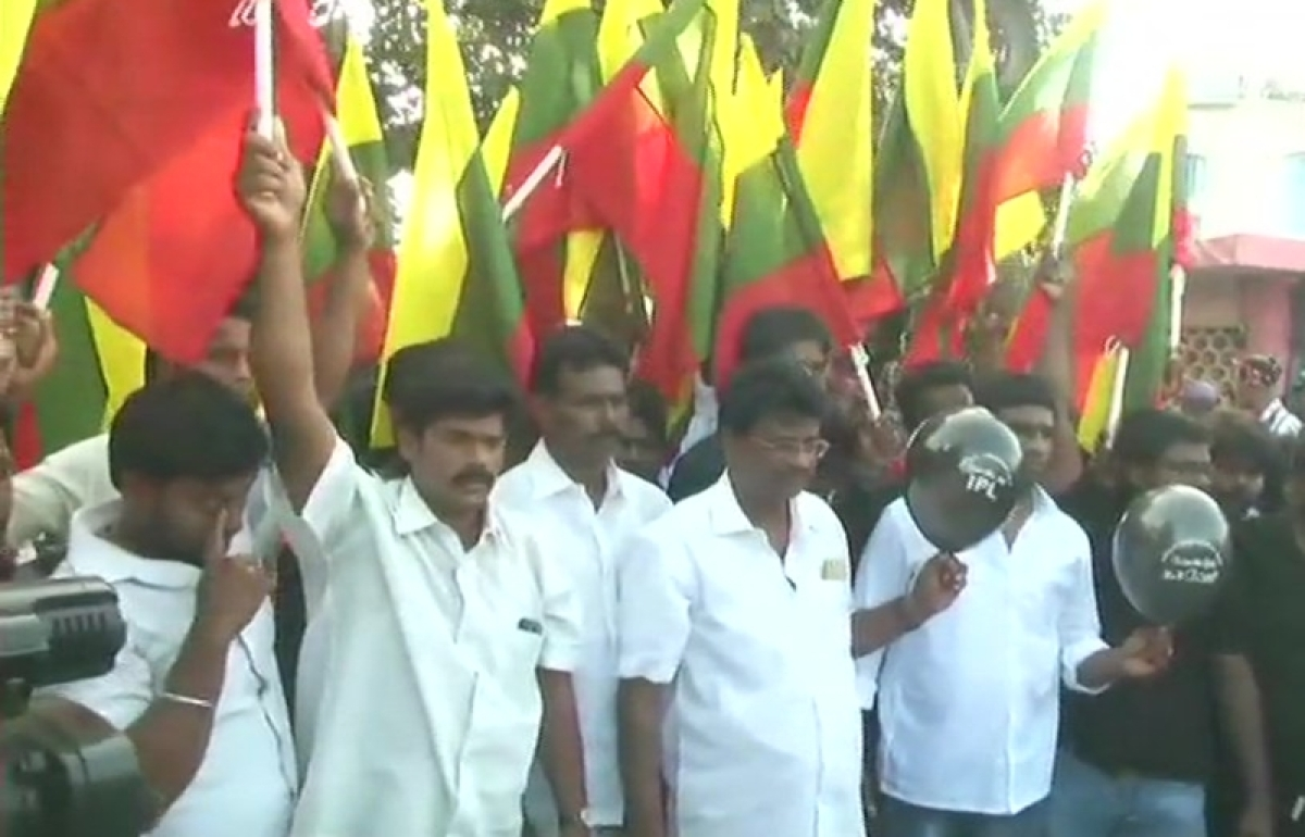 Cauvery row: 21 NTK party workers arrested over anti-IPL protest in Chennai