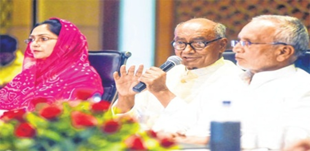 Indore: Illegal mining done with CM's supportsaysDigvijay Singh